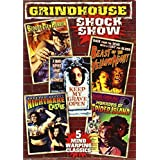 Grindhouse Shock Show (Bloody Pit of Horror / Nightmare Castle / Horrors of Spider Island / Beast of the Yellow Night / Keep My Grave Open) (2-DVD) by Mickey Hargitay