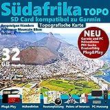 Südafrika South Africa Garmin Karte Outdoor Topo GPS Karte GB microSD Card für Garmin Navi, PC & MAC für Garmin Navigationsgeräte Navigationssoftware  ORIGINAL von STILTEC