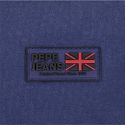 Pepe Jeans Hammer – Estuche triple con cremallera, Multicolor, 22 cm