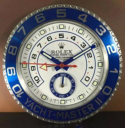 FIR Rloex orologio da parete Yacht-Master super-luminoso orologio da parete in silenzio