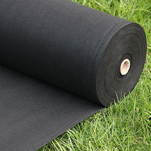 tinkertonk-100pcs-150mm-u-shape-garden-securing-pegs-black-weed-sheet-weed-control-membrane-landscap