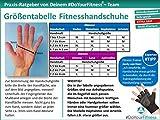 Fitnesshandschuhe »Aphrodite« / Damen Trainingshandschuhe für Workout Gewichtheben Bodybuilding schwarz/pink S - 4