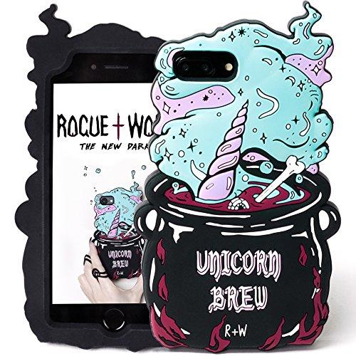 Rogue + Wolf Lindo 3D Unicorn Brew Phone Case Compatible