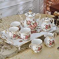 Coffee Set Coppe Europee da tè Bone China Ceramic tazza