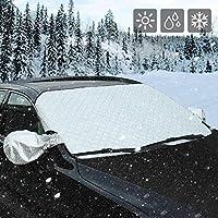 AUTSCA Scheibe Abdeckung Frontscheibe Abdeckung Auto Windschutzscheibe Schneeabdeckung, Frostabdeckung ,Scheibenabdeckung anti Frost,Eis Staub Sonnenstrahl, Wasserdicht