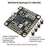 LITEBEE Matek F4 Flight Controller ( Intergreted Bateflight OSD , BEC 5V&10V MicroSD card slot , VCP 5xUARTs , 6 PWM / DSHOT Outputs ) for FPV Racing RC Drone Quadcopter