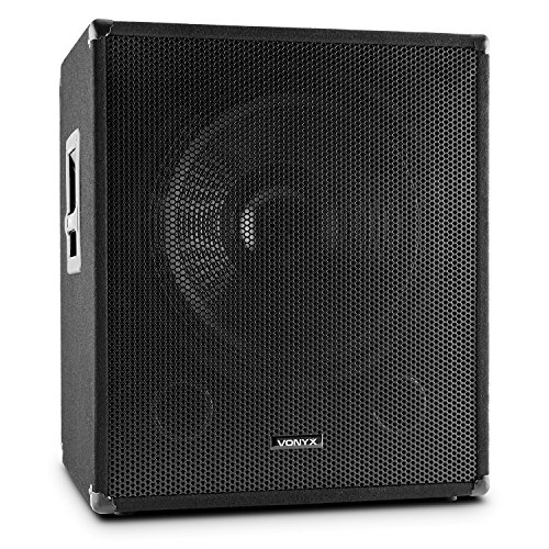 "15/"" DJ PA Lautsprecher Disco Bass Party Box 38cm Speaker 2-wege System 400W"