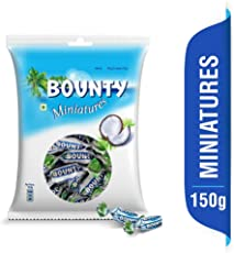 Bounty Miniatures Chocolates