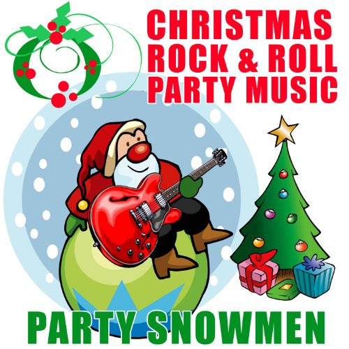 Christmas rock roll party music by snowmen on