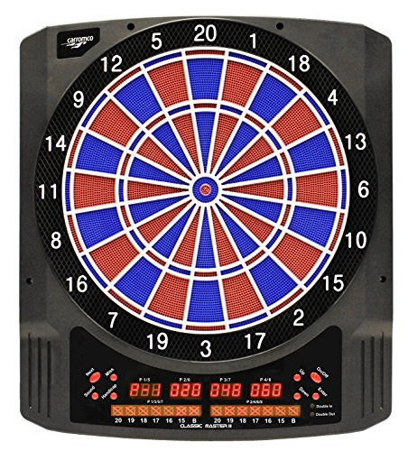 elektronische Dartscheibe Dartboard Classic Master II inkl. 6 Roleo Dartpfeile