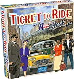 Image for board game Days of Wonder DOW720060 Ticket to Ride New York, Multicolour