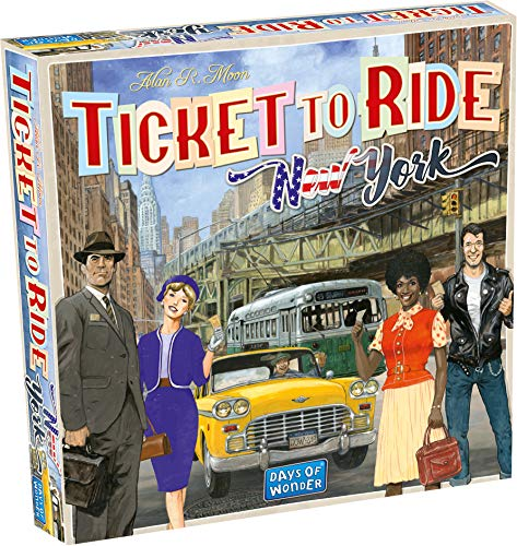 Days of Wonder DOW720060 - Ticket to Ride New York, multicolore
