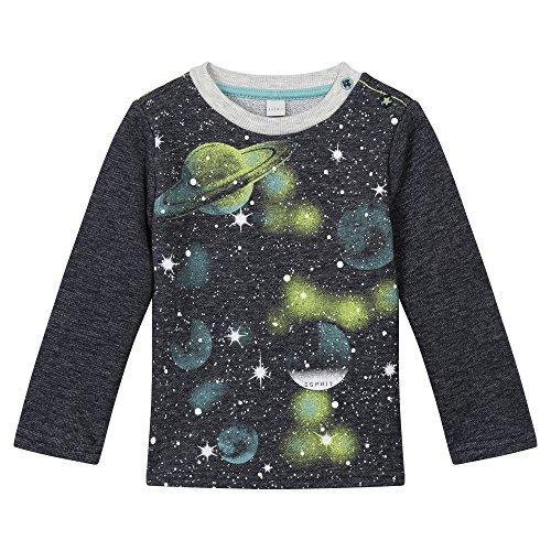 ESPRIT Baby-Jungen Sweatshirt Sweat Shirt, Blau (Ink 415), One size (Herstellergröße: 80) (Sweatshirt Baby Blau)