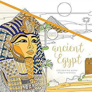 Kaisercraft - Libro para colorear Ancient Egypt (CL530)