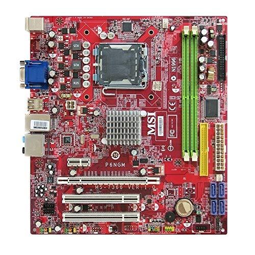 MSI P6NGM MS-7366 Ver.1.0 nVIDIA MCP73PV Mainboard Micro ATX Sockel 775 (775 Mainboard Msi)