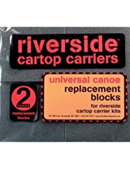 Seattle Sports RS - 7 Universal Canoe Replacement Blocks (Pair), Gray by Seattle Sports