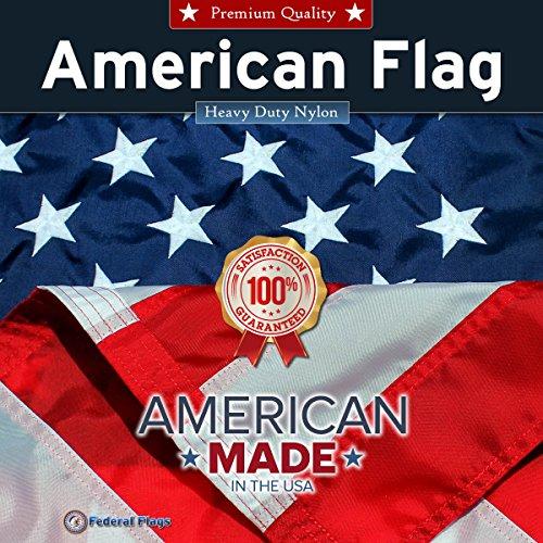 Nylon Flag (Federal Flags Premium Nylon American Flag-12'x 18')