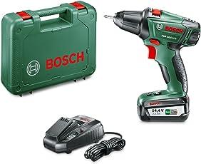 Bosch Akkuschrauber PSR 14,4 LI-2 (Akku, Ladegerät, Schrauber Bit, Koffer, 14,4 Volt, 2,5 Ah)