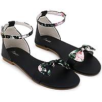 ABIOT Women Stylish Fancy and comfort Trending Flat Fashion sandal