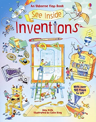 Inventions (Usborne See Inside) by Alex Frith (2011-11-01)