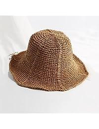 Honey Estate Cappello di Paglia delle Donne Mare Vacanza Cappello da Sole  Saracinesche La Protezione Solare 306aba55cc48