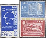 Rumänien 2259,2305-2308,2343, 2344Zf (kompl.Ausg.) 1964 Boden, Sturz, Armee, Philatelie (Briefmarken für Sammler)