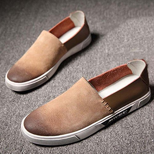 Moda E Respirável Ar Tendência Ao Cáqui Casual Homens Sapatos Confortável Arte Masculina Europeia Zxcv Livre wTOYqO