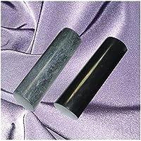 """Schungit und Talkchlorid Zylinder Set, Pharaonenzylinder """"Harmonizer"""", poliert 3x10cm, MIT ZERTIFIKAT! preisvergleich bei billige-tabletten.eu"""