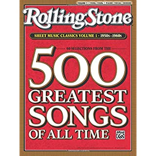 Rolling Stone Sheet Music Classics, Vol 1: 1950s-1960s (Rolling Stone Magazine)