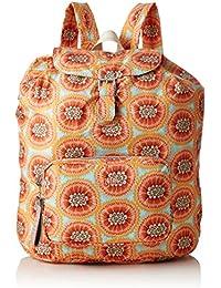 Oilily - Enjoy Passion Fruit Backpack Lvf, Bolsos mochila Mujer, Naranja (Orange), 13x40x30 cm (B x H T)
