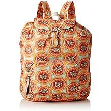 Oilily - Enjoy Passion Fruit Backpack Lvf, Bolsos mochila Mujer, Naranja (Orange)