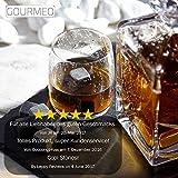 Gourmeo Premium Whisky Steine (9 Stück) aus Speckstein - 3