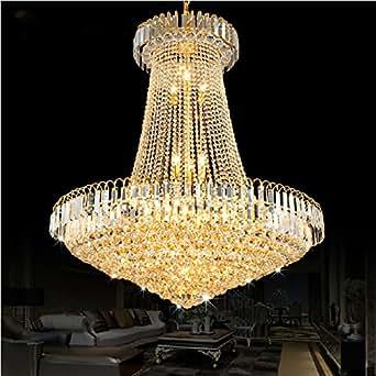 msaj goldene kristall kronleuchter leuchten die wohnzimmer. Black Bedroom Furniture Sets. Home Design Ideas