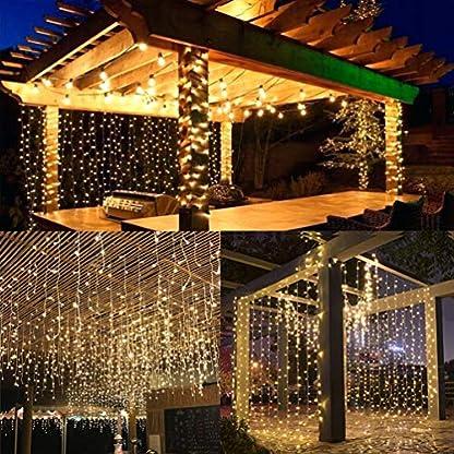 LEDGLE-Lichterketten-Vorhang
