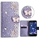 Xifanzi Wallet Flip Case Cover für HTC U11 Leder Handyhülle