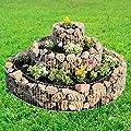 Gabione 3-fach-Ring 20x120/40x70/60x30 cm von DEMA auf Du und dein Garten