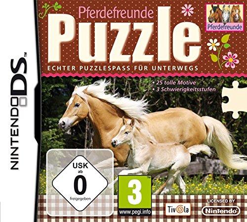 Puzzle - Pferdefreunde - [Nintendo DS] - Für Nintendo Ds Wort-spiele
