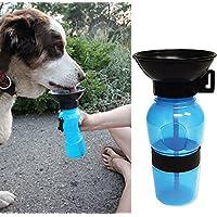 Malloom 2017New Style tragbare Hundetrinkflasche für unterwegs