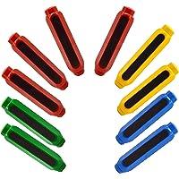 10 Pièces Porte-Craie en Plastique, Supports de Craie, Ecole Plastique Porte-Craie, Pince à Craie en Plastique, Adapté à…
