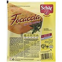 Dr. Schar Focaccia Pan - Paquete de 3 x 66.67 gr - Total: 200
