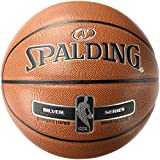 Spalding NBA Silver Basketball Ball, orange, 7