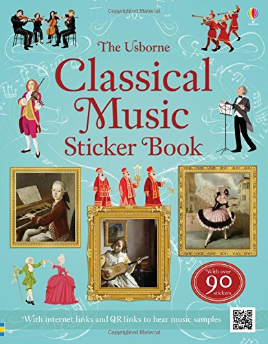 Classical Music Sticker Book par Anthony Marks