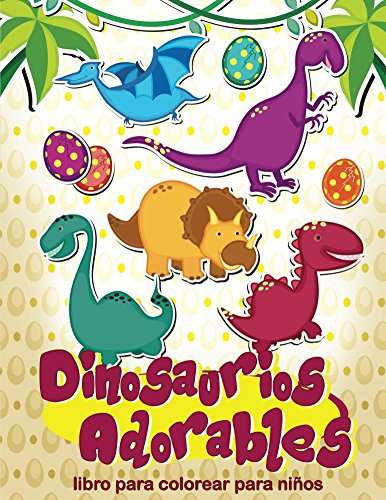 Dinosaurios adorables por Jenny Brown