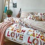 Esprit Bettwäsche - Love - Multi - 135 x 200 + 80 x 80