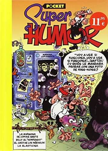 Super Humor. Mortadelo Y Filemón. Máquina copiar gente - Volumen 7 (SUPER HUMOR POCKET)