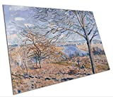 Alfred Sisley Banks of the Loing Autumn Effect reproduction A1 Poster 841x594mm
