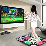Puronic Non-slip Dance Mats Rhythm and Beat Game Dancing Step Pads USB Lose Weight Pads Dancer Blanket with USB Entertainment for PC Laptop (Pattern 2