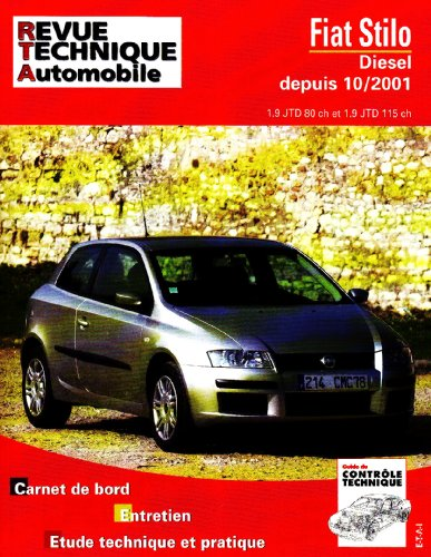 Descargar Libro Revue Technique Automobile,  N° 661.1 : Fiat Stilo diesel depuis 10/2001 de Etai