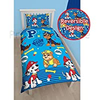Paw Patrol Heroes Single Duvet Cover And Pillowcase Set