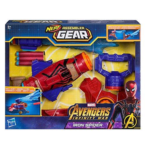 Hasbro Avengers E2134EU4 Marvel Assembler Gear Spider-Man, Spielzeugblaster